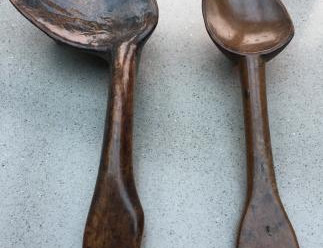Take a closer look at antique treen