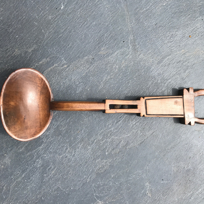 Antique Welsh love spoon, to buy, Opus Antiques UK666