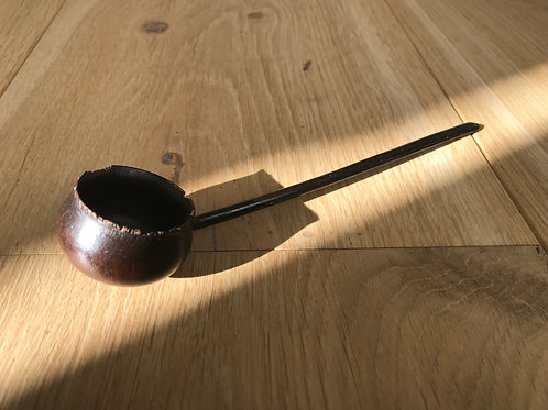 Antique Treen Toddy Ladle