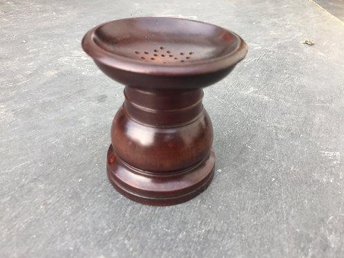 Antique Fruitwood Pounce Pot