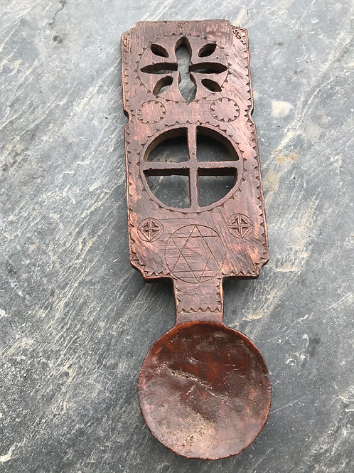 Antique Welsh Lovespoon