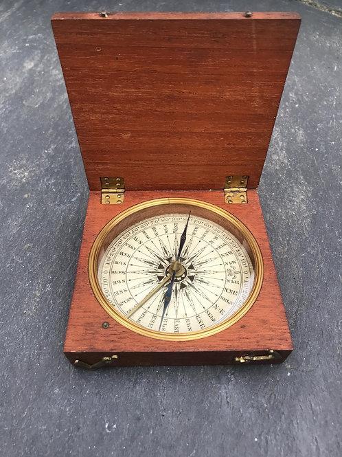 Antique Georgian Explorers Compass