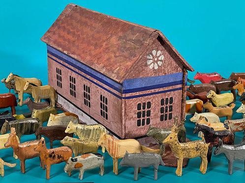 Antique German Noahs Ark