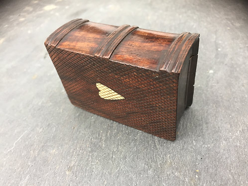 Antique Snuff Box - in the form of a  book