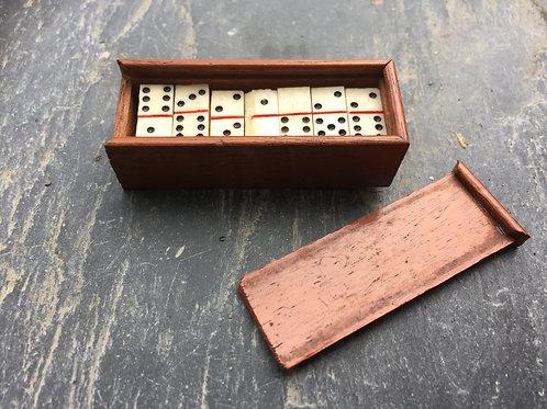 Antique Mini Dominoes