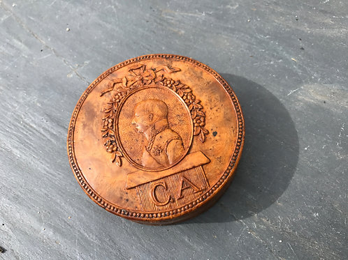 Antique Carved Snuff Box