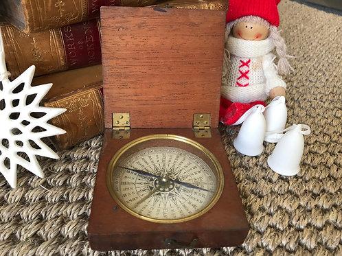 Antique Explorer's Compass