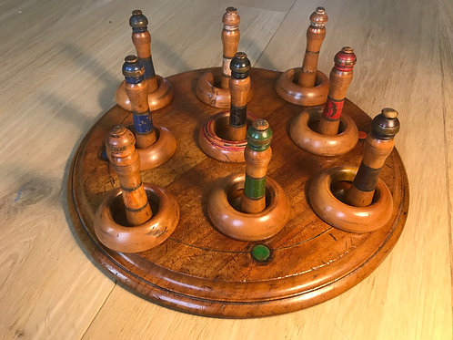 Antique Hoopla Game
