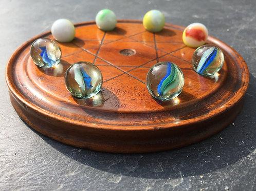 Antique Treen Game - Mu Torere