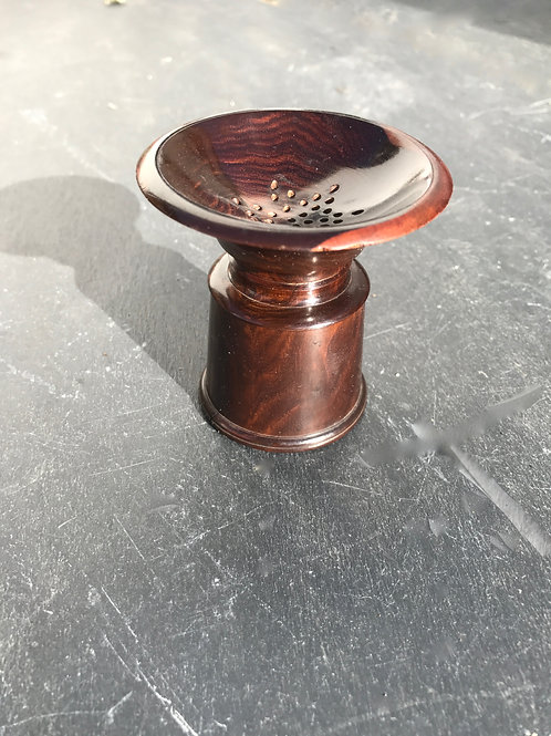 Antique Treen Pounce Pot