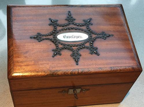 A Georgian Stationery Box
