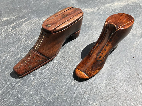 Antique Snuff Shoe