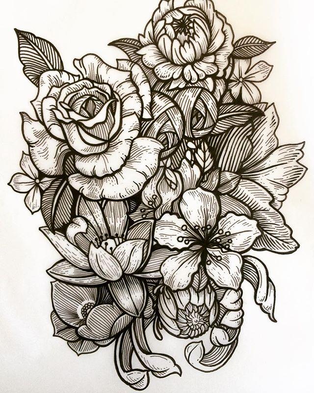 #tattoo #ink #sketch #blackworktattoo #d