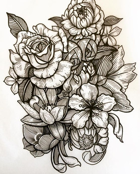 #tattoo #ink #sketch #blackworktattoo #d