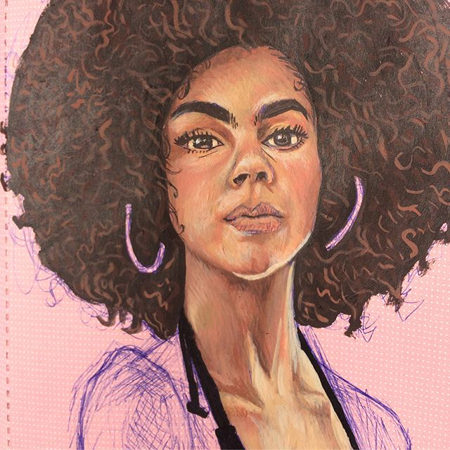 #sketch #illustration #acrilics #paintin