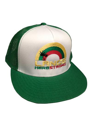 Lance Herbstrong Green Trucker Hat
