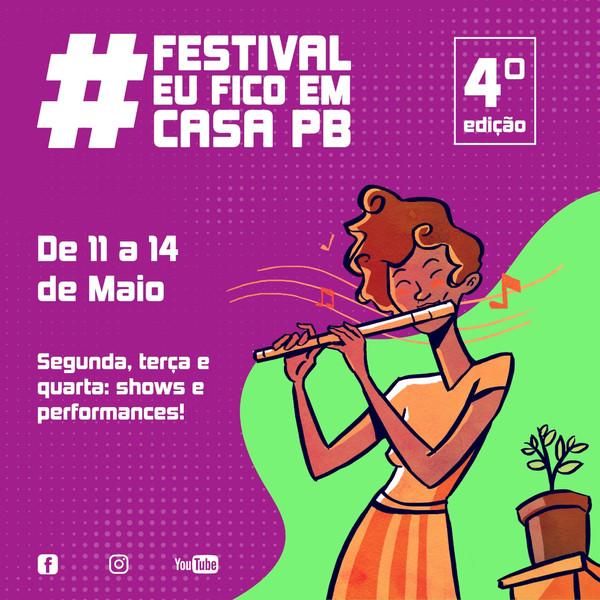 Festival #EuFicoEmCasaPB