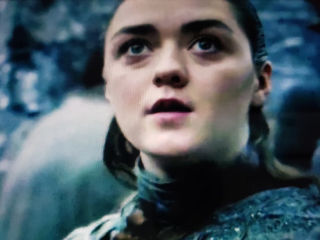 That Look Arya gives to Drogon
