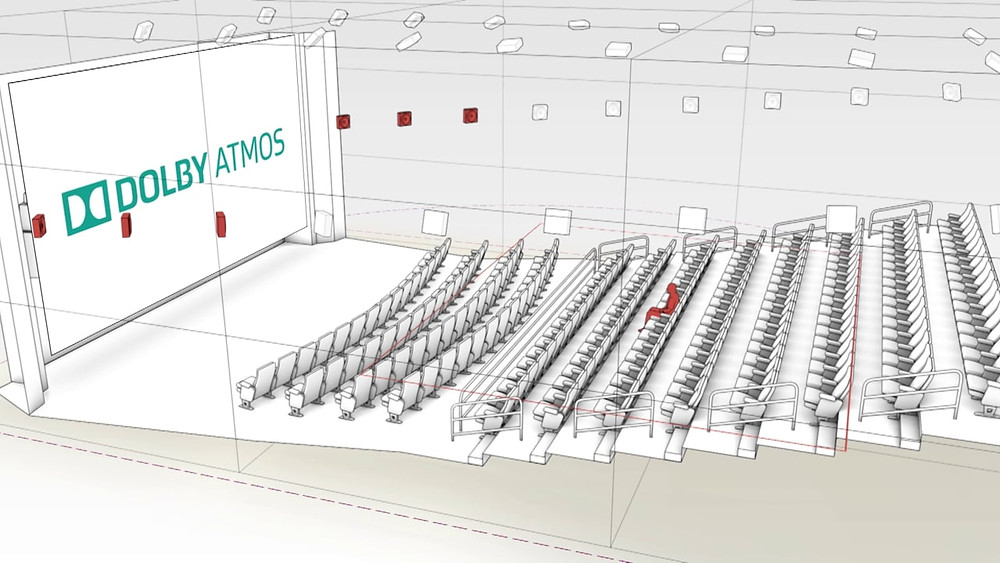 Dolby Atmos Theater Layout