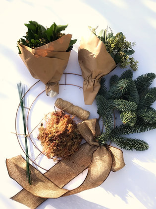 Wreath-making kit