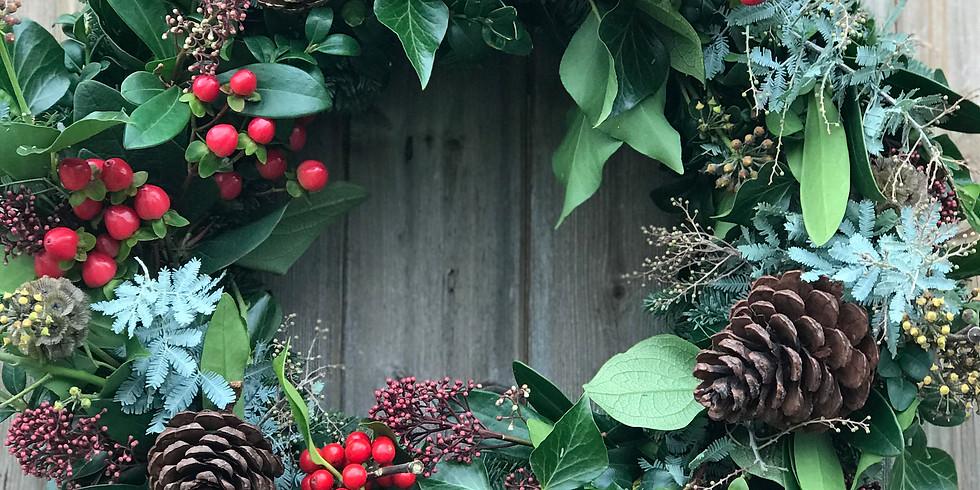 Creative Flora Wreath workshop