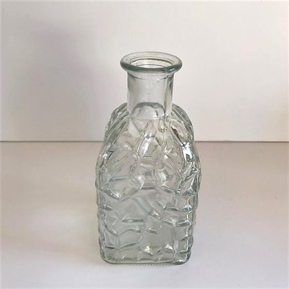 Clear glass bud vases (single)