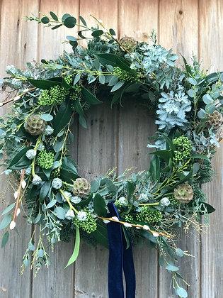 Mint Velvet wreath
