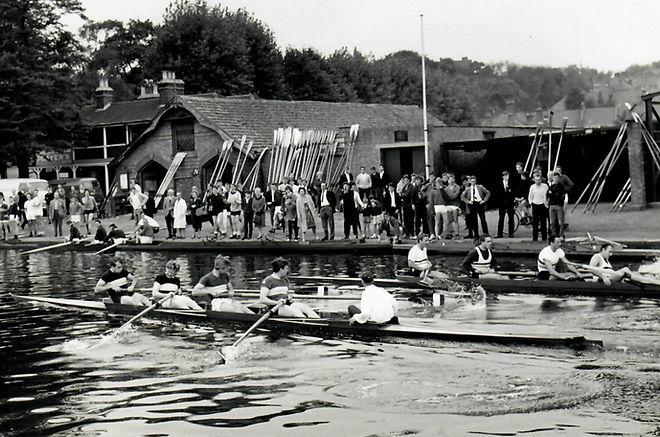 Regatta on the River Lea, 1963 – Crowland vs City Orient