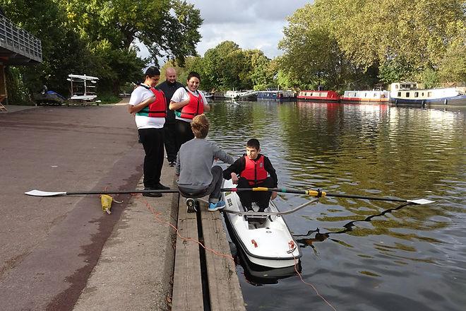 Schools'Rowing at Lea R.C.