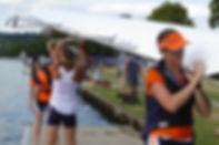 Lea R.C. Women's Squad at World Rowing Masters Regatta