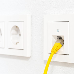 Low voltage outlet