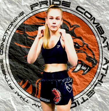 Muay Thai Fighter Nicole