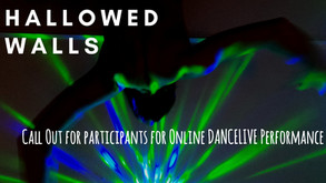 Call out for Participants for online Dancelive performance