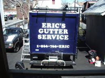 Eric's Gutter Service Truck in Westchester, NY