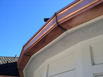 Rounded Gutter Install Repaired in Irvington, NY