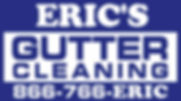 Eric's Gutter Cleaning ONLY Logo