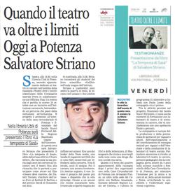 Gazzetta del Mezzogiorno 11/11/2016