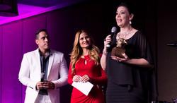 Amarilis Rivera, ganadora como Mejor Presentadora de TV