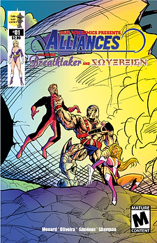 Dojo Kun Comics Presents Alliances, Star