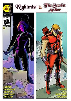 Nightmist & The Scarlet Archer #01 - Cov