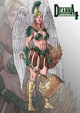 Deanna, Hammer of the Angels by Cody Con