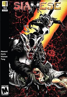 Siamese #04 - Cover for DOJO KUN COMICS.