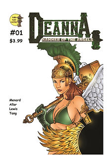 Deanna, Hammer of the Angels #01 - Front