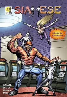Siamese #02 - Cover for DOJO KUN COMICS.