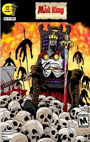 Mad King #01 - Cover for DOJO KUN COMICS