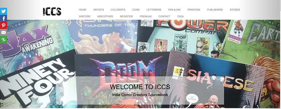 013. Banner for Indie Comic Creators Sou