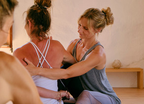 The Art of Touch- The art of adjustments in yoga classes