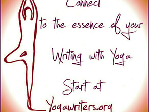 Yoga for writers and the one and only yoga pose