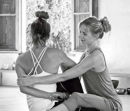 Agnes Kru Yoga teaching adjustments for yoga teachers