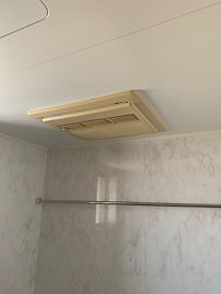 浴室乾燥機取替前